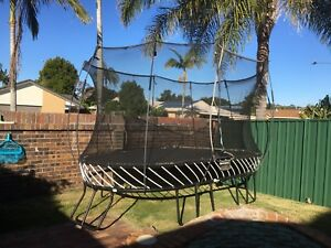 Large oval springfree trampoline Burleigh Waters Gold Coast South Preview