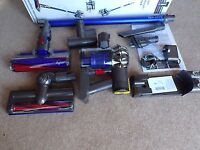 DYSON V6 FLUFFY CORDLESS VACUUM CLEANER BOXED AND COMPLETE