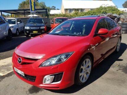 2008 Mazda 6 GH Luxury Sports Red 6 Speed Manual Hatchback