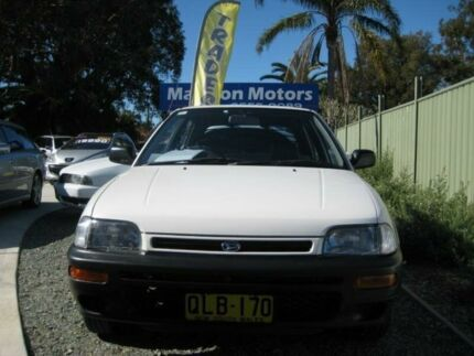 1995 Daihatsu Charade CS White 4 Speed Automatic Hatchback