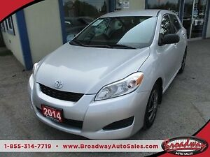 2014 Toyota Matrix 'GREAT VALUE' FUEL EFFICIENT LE MODEL 5 PASSE