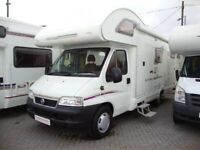 "Great ""all-rounder"" 6berth Motorhome with Low Mileage"