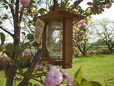 Granny's Canning Jar Bird Feeder One Quart Size NIB