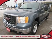 2008 GMC Sierra 2500 HD DURAMAX WORK READY SLT MODEL 6 PASSENGER