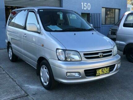 2001 Toyota Spacia LITEACE NOAH Silver 4 Speed Automatic Wagon