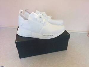 Adidas NMD R1 PK Japan Triple White US 9 Burwood East Whitehorse Area Preview