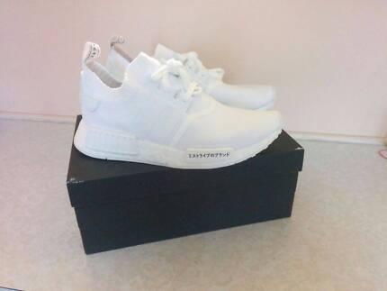 Adidas NMD R1 PK Japan Triple White US 9