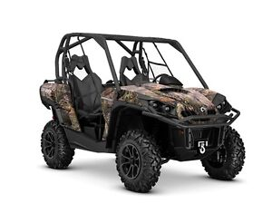 2016 Can-Am Commander XT 1000 Mossy Oak Break-Up Country Camo
