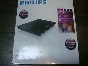 BNIB Philips SDV6225 Indoor 18 dB Amplified Digital TV Antenna