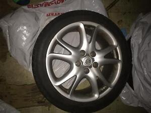 Porsche cayanne turbo rims and tires