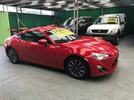 2013 Toyota 86 ZN6 GT Red 6 Speed Manual Coupe Five Dock Canada Bay Area Preview