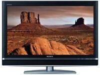 Quality Sony 32inch Flat screen LCD TV with integrated Freeview and two HDMI connections