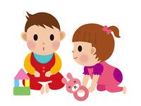 Nounou (aide avec les enfants, ménage et repas)