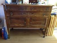 80 year old buffet for sale.