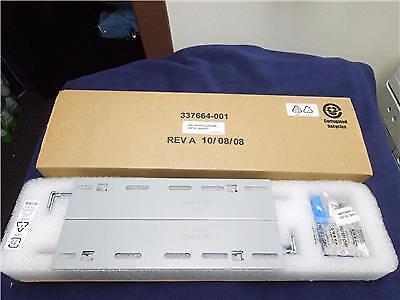 HP Assy Mounting Hardware 336050-001 337664-001 Rack Rail Kit For KVM Switch - Hp Rack Mounting Hardware