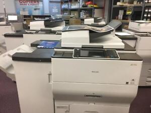 Ricoh MP C8002 Color Copier Production Printer HIGH QUALITY FAST Copy Machine Print Shop Colour Printers REPOSSESSED