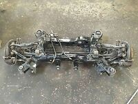 2009 BMW complete rear axle