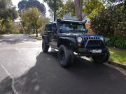 Jeep jk wrangler diesel unlimited Croydon Maroondah Area Preview