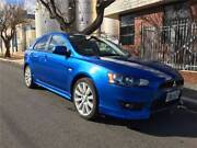 2008 MITSUBISHI LANCER VRX MANUAL ALLOY WHEELS Melrose Park Mitcham Area Preview