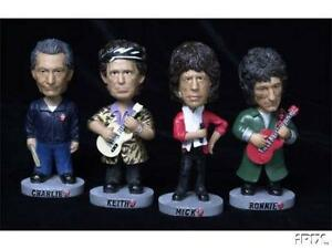BRAND NEW IN PACKAGE SET OF ROLLING STONES BOBBLE HEADS.