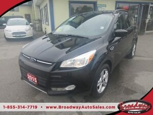 2015 Ford Escape LOADED SE EDITION 5 PASSENGER 4WD.. HEATED SEAT