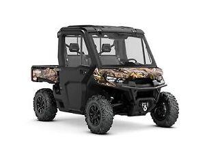 2019 Can-Am Defender XT CAB HD10 Mossy Oak Break-Up Country Camo