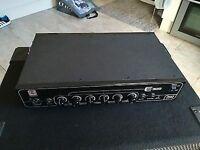 Eden E300 Bass Amp Head 300W. In original box, used twice.
