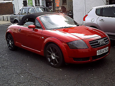 2004 04 Audi TT Roadster 1.8T ( 150bhp ) ** CONVERTIBLE ** | in Ayr