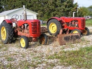 Two Massey 44 tractors for 1600