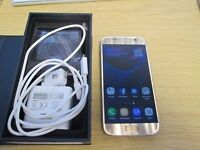 Samsung Galaxy s7 gold platinum, 32gb