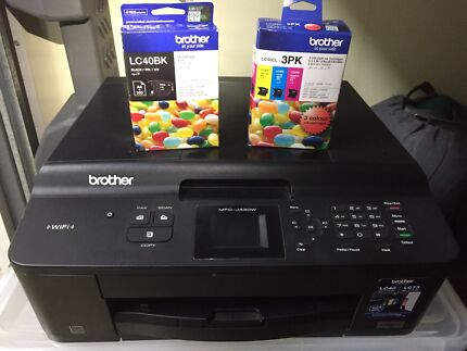 BROTHER PRINTER SCANNER FAX WITH SPARE INK