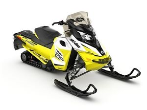 2017 Ski-Doo MXZ TNT ROTAX 900 ACE White  Sunburst Yellow