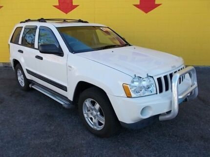 2007 Jeep Grand Cherokee WH MY2007 Laredo White 5 Speed Automatic Wagon