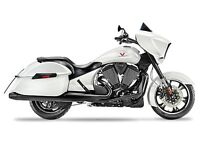 2015 Victory Cross Country Suede White Frost