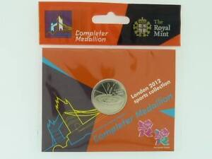 2011 Royal Mint Olympic 50p Completer medal medallion