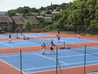 Bank Holiday Tennis in the High Peak