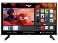 """BRAND NEW CONDITION 49"""" INCH BUSH SMART FULL HD TV WITH BUILT IN WIFI AND FREEVIEW"""