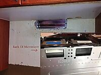 Looking for someone to install an over the range microwave