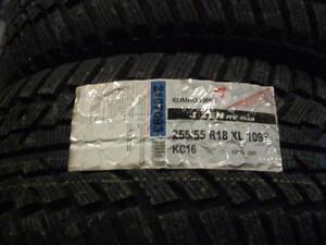 4 pneus d'hiver neuf 255/55r18 Kuhmo I'zen RV