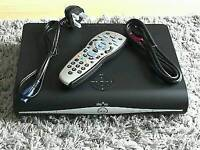 Sky HD BOX / 3D ON DEMAND/WITH ORIGINAL REMOTE/ POWER LEAD/ hdmi cable/ even comes with a sky card