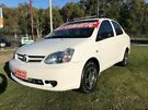 2004 Toyota Echo NCP12R White 4 Speed Automatic Sedan