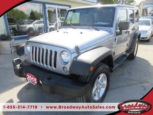 2015 Jeep Wrangler 'LIKE NEW' UNLIMITED EDITION 5 PASSENGER 4X4.