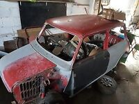 classic mini shell or unwanted mini projects