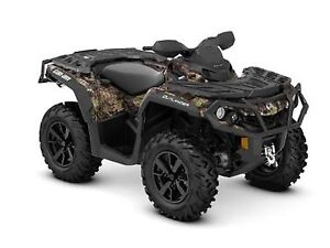 2019 Can-Am Outlander XT 850 Mossy Oak Break-up Country Camo