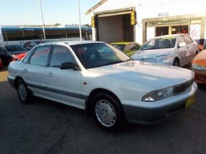 1995 Mitsubishi Magna TS Advance White 4 Speed Automatic Sedan North St Marys Penrith Area Preview