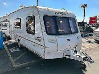 (42) 2005 BAILEY PAGEANT MOSELLE 4/5 BERTH SINGLE AXLE TOURING CARAVAN