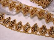Gold Beaded Trim