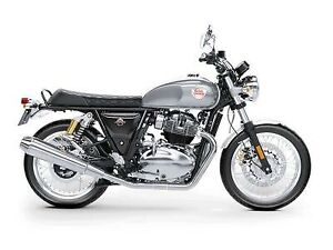 2019 Royal Enfield Int650 Silver Spectre