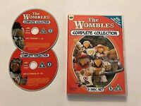 The Wombles Complete Collection DVD Genuine 2 CD sImmaculate Collectable £30 free postage in UK