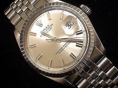 Rolex Datejust 1603 mit Big Boy-Anzeige und -Zeigern